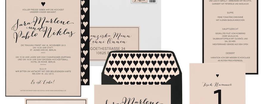 Hochzeitskarten Ready-to-Order Kollektion