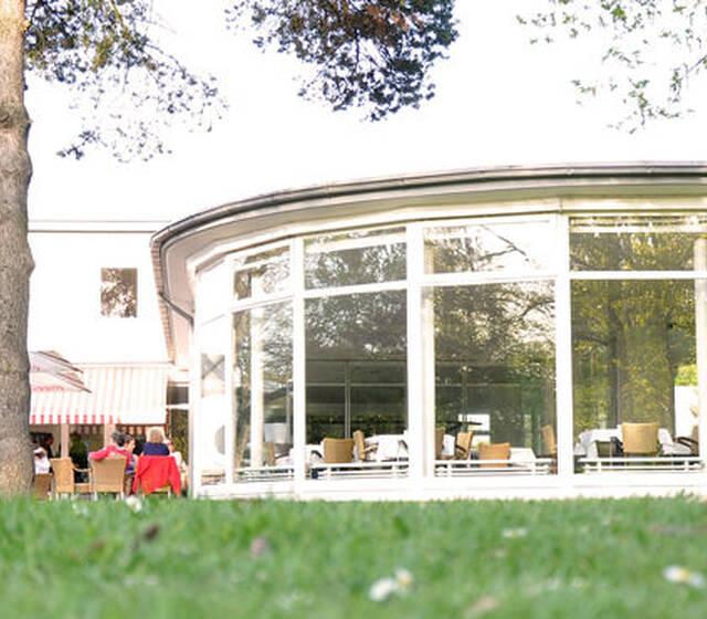 Beispiel: Pavillon - Außenansicht, Foto: Tiemann's Restaurant.