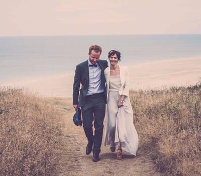 Photos des mariés à Carteret