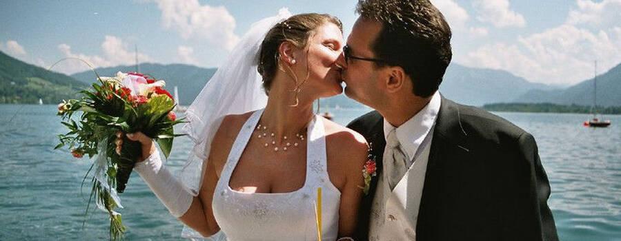 Beispiel: Ihre Hochzeit auf dem Mondsee, Foto: Mondsee Schifffahrt.