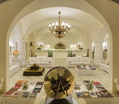 Lobby Capri Palace Hotel & Spa
