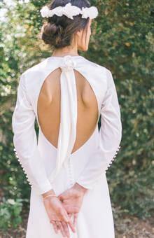 Robe de mariée en soie : Silk