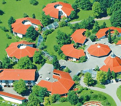 Beispiel: Luftaufnahme, Foto: Hohenwart Forum.