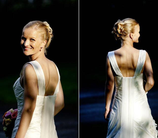 Beispiel: Braut-Styling, Foto: Indira Narkus.
