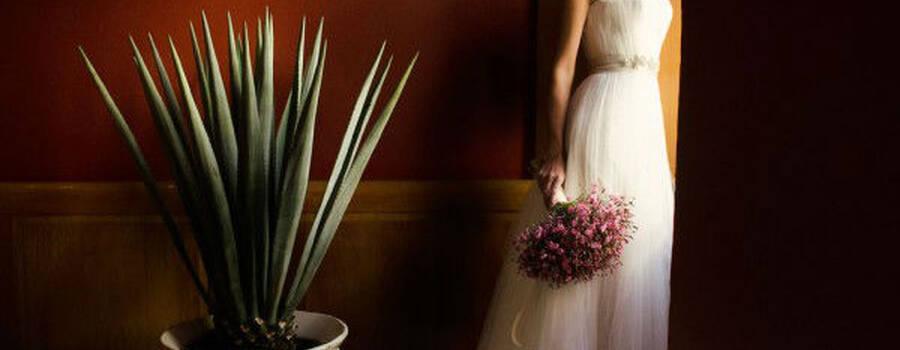 Ramo de novia rustico