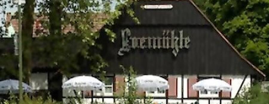 Beispiel: Vorderansicht, Foto: Hotel Loemühle.