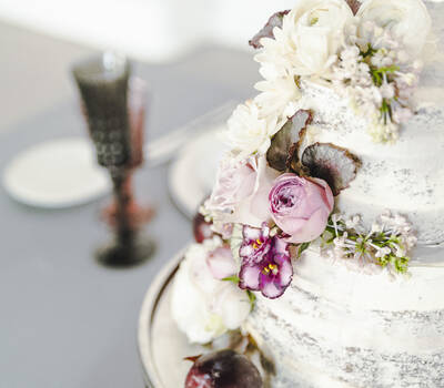 Мраморный торт