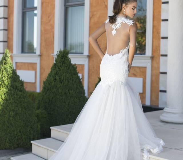 Abito da sposa modello Zoia, collezione Romantica