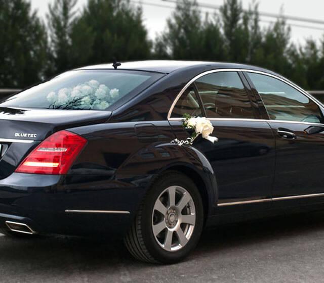 Mercedes Clase S adornado