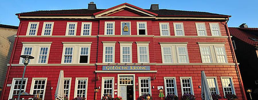 Beispiel: Vorderansicht, Foto: AKZENT Hotel Goldene Krone.