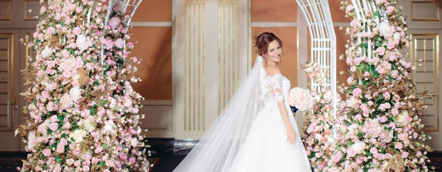 Студия Maria German decor создала декор для элегантной свадьбы в отеле The Ritz Carlton Moscow