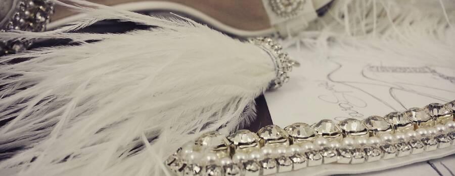 Progettazione e applicazione di un decoro gioiello su sandalo sposae
