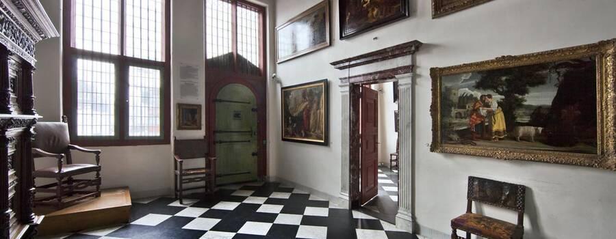 De oude voordeur