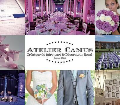 Atelier Camus - Faire part et décoration florale