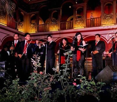 Magistral presentacion en el Convento de Santo Domingo Lima www.corocanticumnovum.com