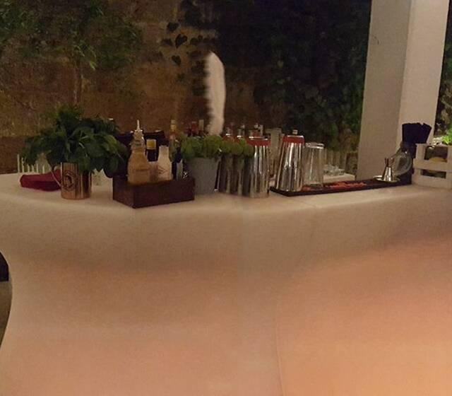 Patio Wedding Drink