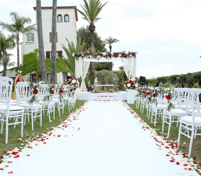 Hindou wedding, Cannes