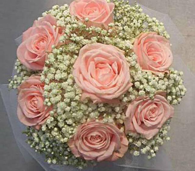 Beispiel: Ihr persönlicher Hochzeitsstrauß, Foto: Blumen Leitgeb-Hitzler.