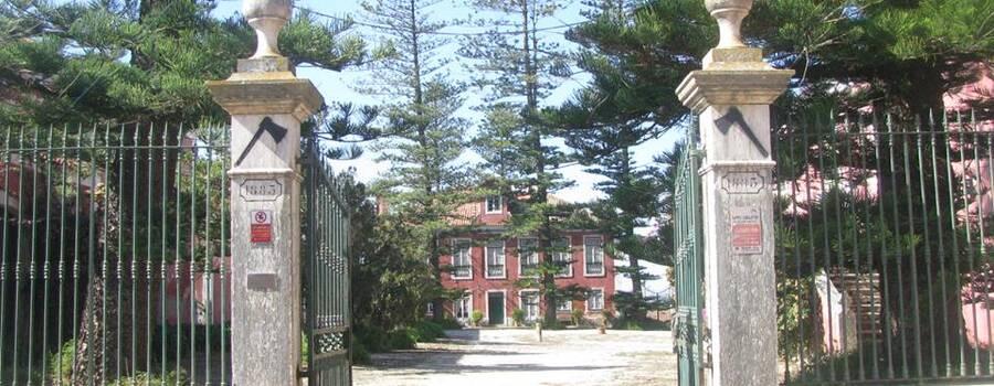 Entrada Principal da Quinta da PIcanceira