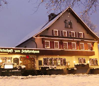 Beispiel: Aussenansicht, Foto: Wirtschaft zum Schützenhaus.