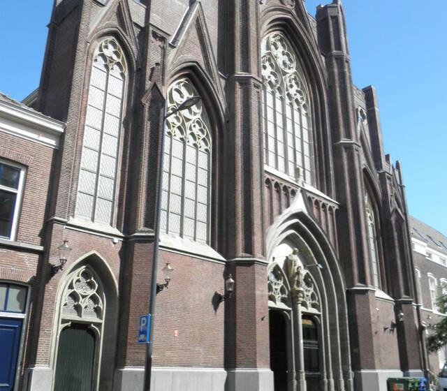 Buitenaanzicht Orangerie St. Josephkerk
