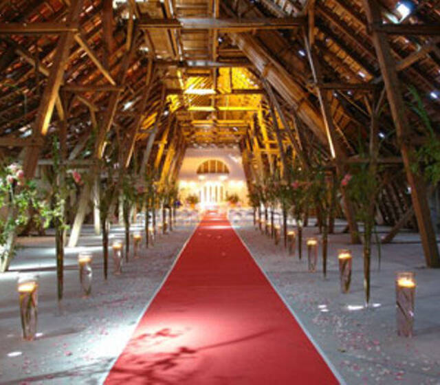 Beispiel: Hochzeitslocation, Foto: event 360°.
