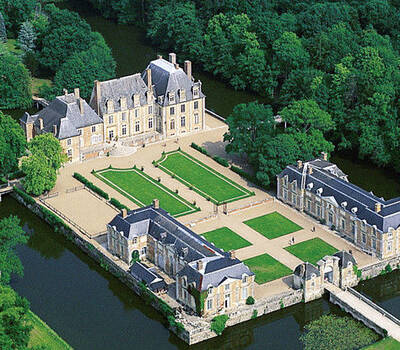 Le Château de La Ferté Saint Aubin - Extérieur