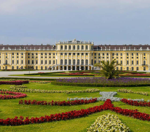 Beispiel: Außenansicht, Foto: Schloss Schönbrunn.