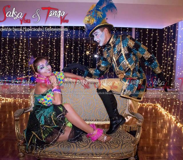 Temática Fantasía, Salsa Viva & Tango Vivo