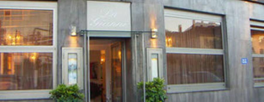 Beispiel: Eingang, Foto: Da Gianni.