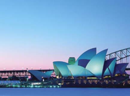 Soirée à l'Opéra de Sydney
