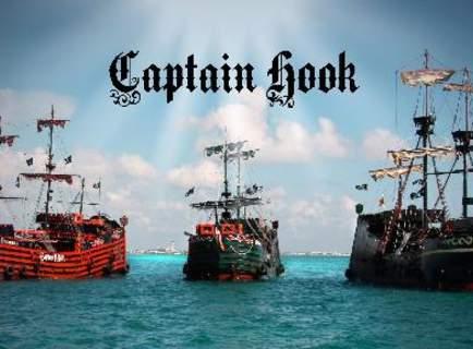 Captain Hook Barco Pirata Pirate Ship