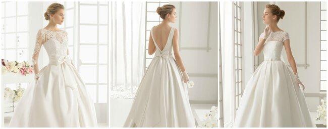 Brautkleider mit Schleifen 2016.
