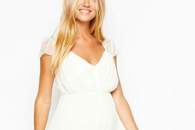Короткое свадебное платье для беременной ASOS 2015, ref. 504733.