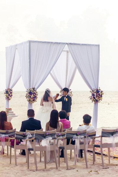 Traumhafte Hochzeit.