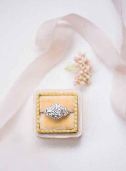 Anéis de noivado vintage