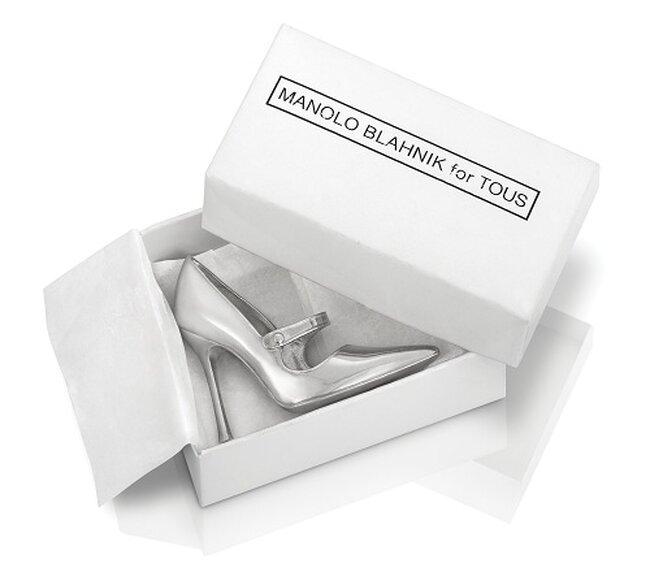 Mini caja de zapatos para la Joyeria de novia