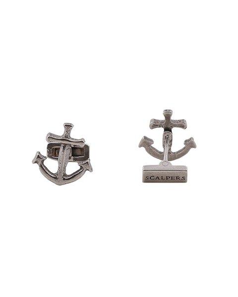 Anchor cufflink silver, Scalpers.