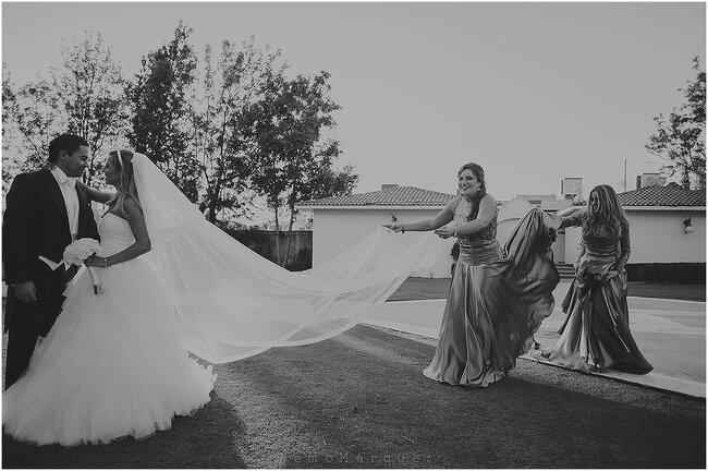 Una boda enmarcada por el amor ligia y betico una for Jardin 3 marias puebla