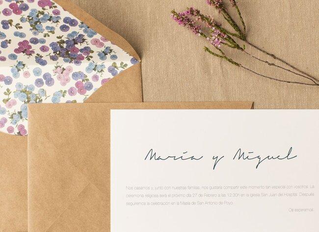 Invitaciones de boda 2017 toma nota e invita con mucho estilo altavistaventures Image collections