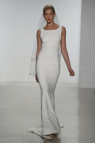 Suknia ślubna z kolekcji Amsale 2015