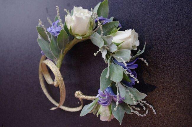 Couronnes de fleurs pour mariée 2017
