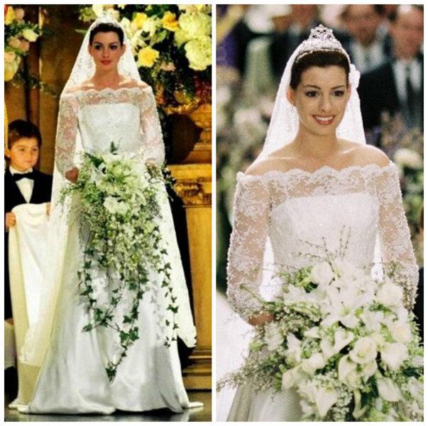 """Anne Hathaway w """"Pamiętnik księżniczki 2 """""""