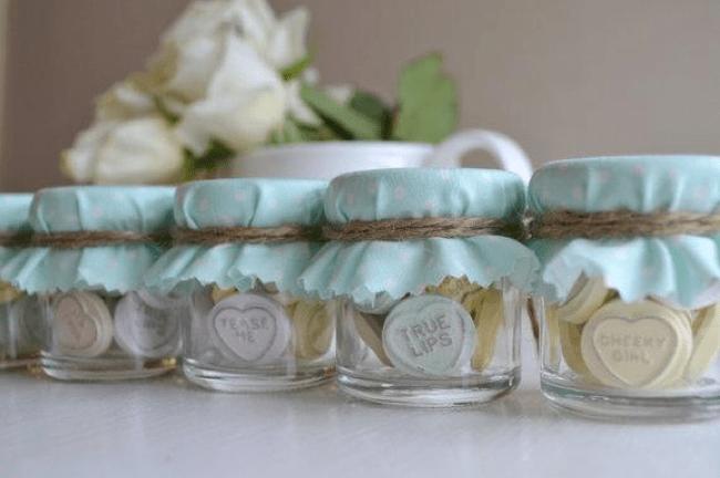 Recuerdos originales de boda para tus invitados - Comprar tarros de cristal pequenos ...