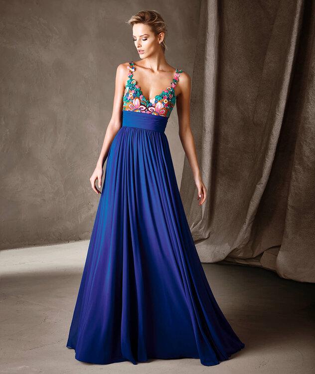 Vestidos de fiesta cortos para bodas pronovias