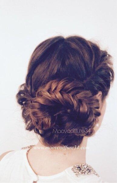 Les coiffures de mari e tresses 2017 les plus styl es - Coiffure invitee mariage 2017 ...