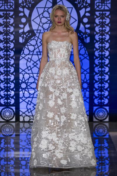 Reem Acra Fall 2016, Bridal Fashion Week