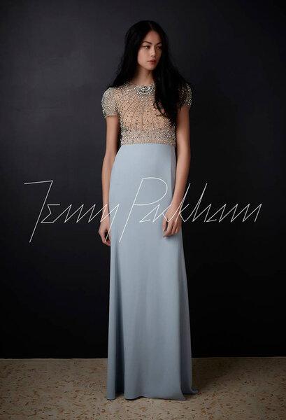 Robes de soir e bleues 2017 une invit e de mariage glamour for Jenny packham robe de mariage de saule