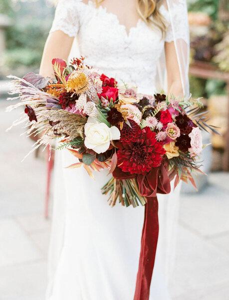 Extrêmement Bouquets de fleurs sauvages : des créations bohèmes et romantiques  AT27