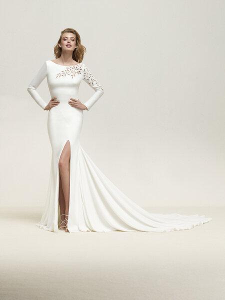 Los mejores vestidos de novia corte sirena para lucir sensual y ...